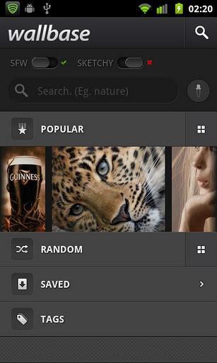 Wallbase HD Wallpapers - Imagem 1 do software