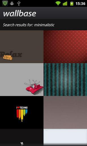 Wallbase HD Wallpapers - Imagem 2 do software