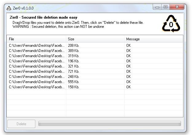 Zer0 - Imagem 2 do software