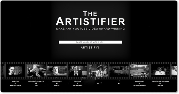 The Artistifier - Imagem 1 do software
