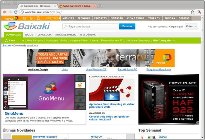 Google Chrome Beta Download para Linux em Português Grátis