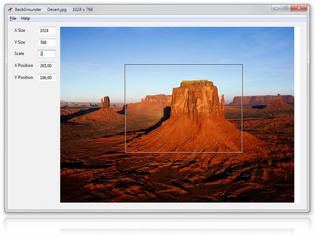 BackGrounder - Imagem 1 do software