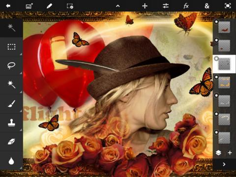 Adobe Photoshop Touch - Imagem 1 do software