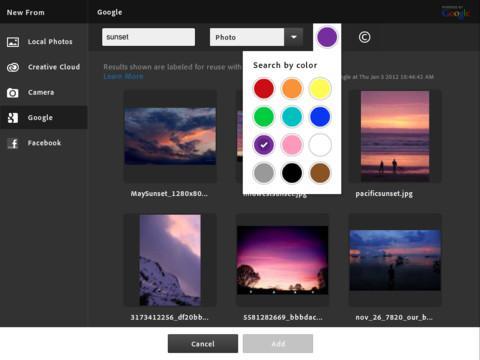 Adobe Photoshop Touch - Imagem 2 do software