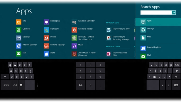 Aplicativos para o Windows 8.