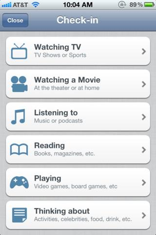GetGlue - Imagem 1 do software