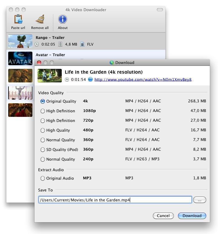 4K Video Downloader - Imagem 1 do software