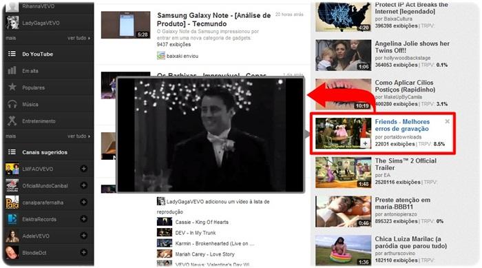 Youtube Preview - Imagem 1 do software
