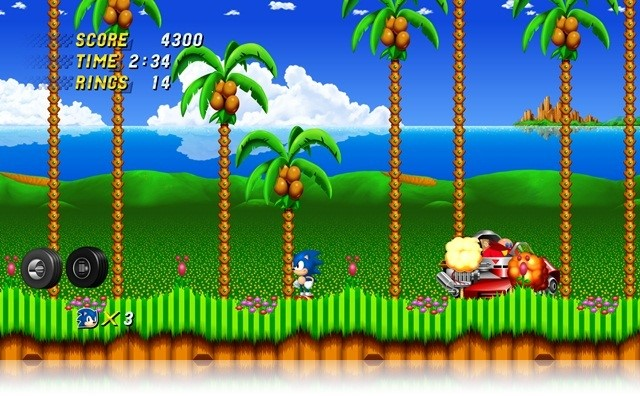 Sonic the Hedgehog 2 HD DEMO.