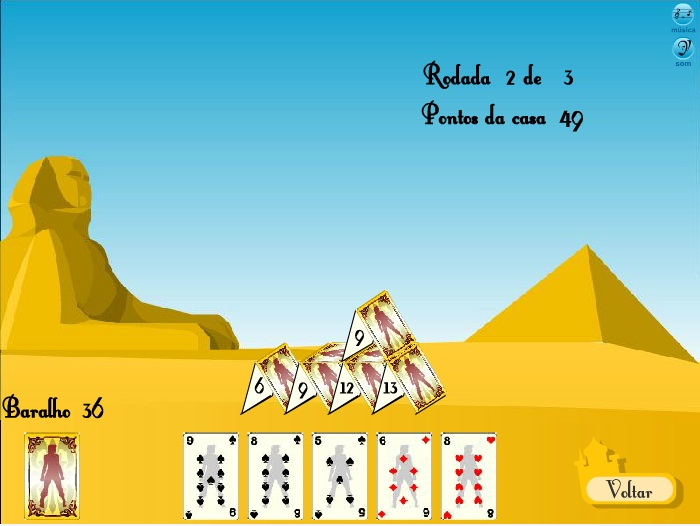 Castle of Cards - Imagem 2 do software