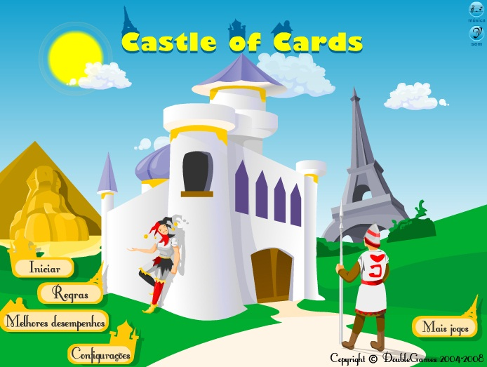 Castle of Cards - Imagem 1 do software