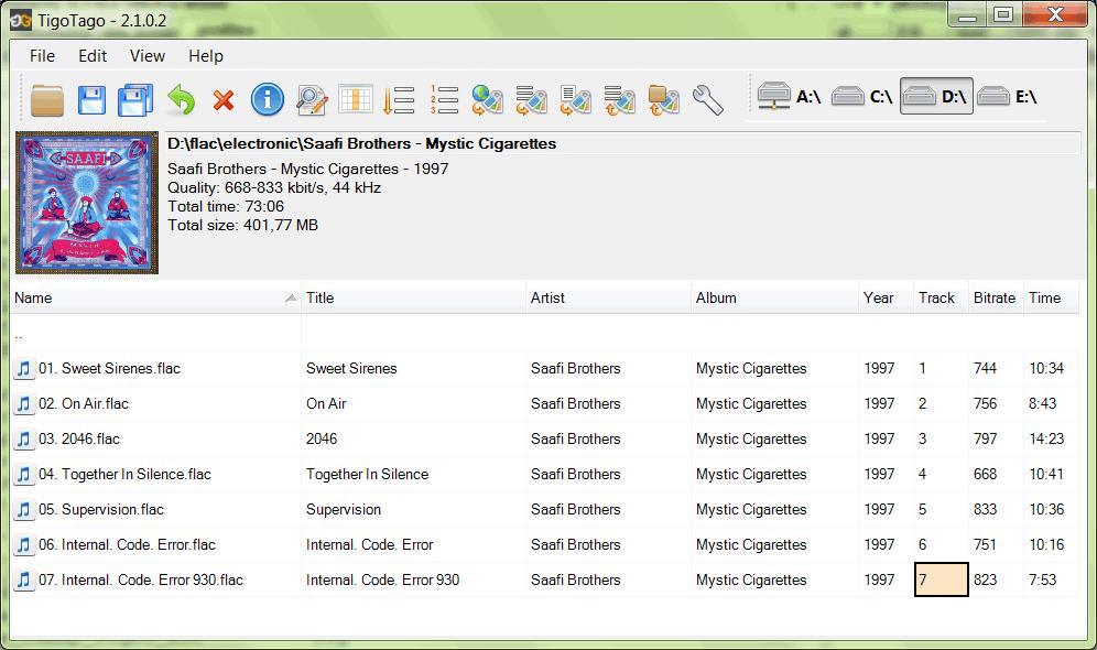 TigoTago Tag Editor - Imagem 1 do software