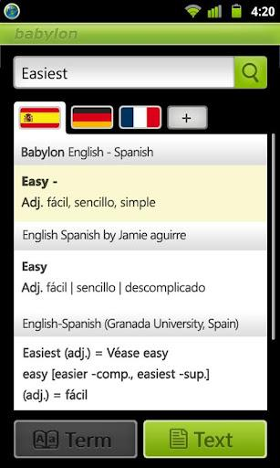 Babylon Translator - Imagem 1 do software