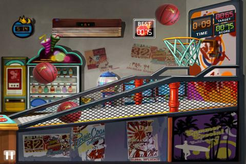 Basketball Toss HD - Imagem 1 do software