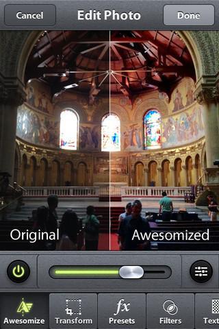 Camera Awesome - Imagem 2 do software
