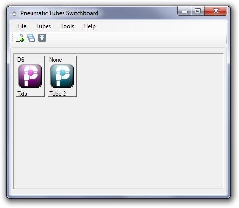 Interface principal