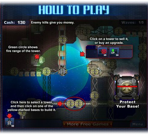 Star Base Defense - Imagem 4 do software