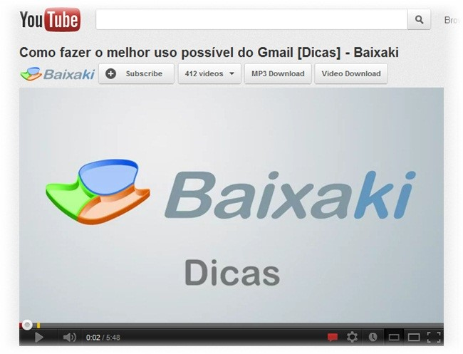 YouTube Converter para Google Chrome.