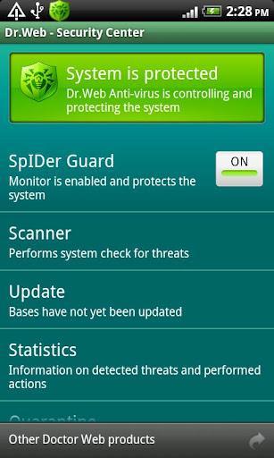 Dr.Web Anti-virus Light - Imagem 1 do software