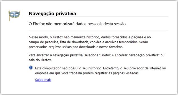 Private Browsing Windows.