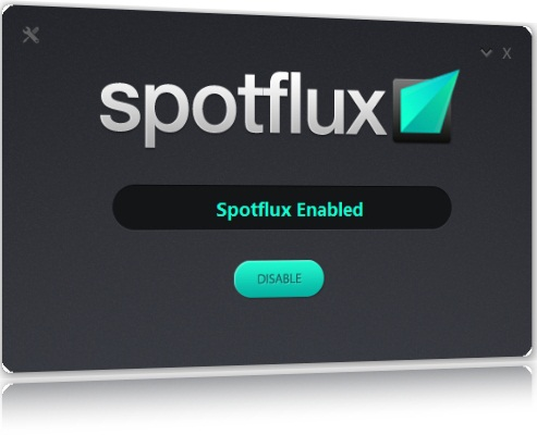 Spotflux - Imagem 1 do software