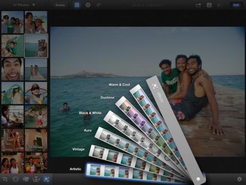 iPhoto - Imagem 1 do software