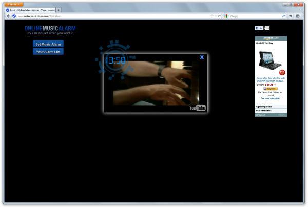 Online Music Alarm - Imagem 1 do software