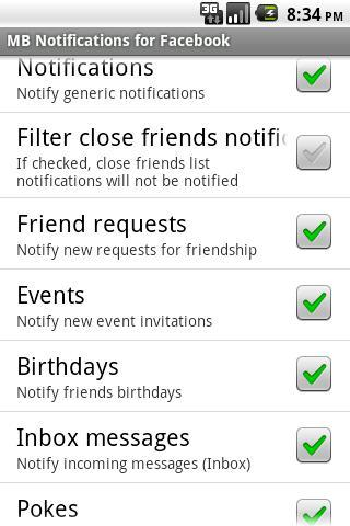 MB Notifications for FB (Free) - Imagem 1 do software