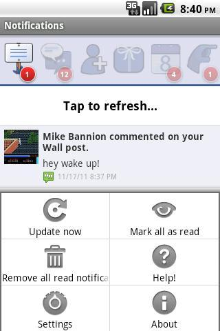 MB Notifications for FB (Free) - Imagem 2 do software