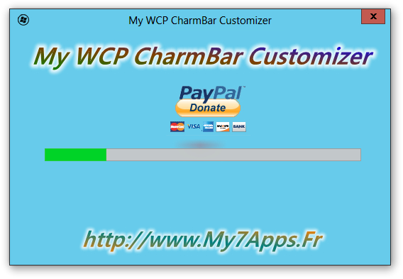 My WCP CharmBar Customizer - Imagem 3 do software