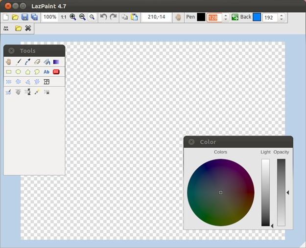 LazPaint - Imagem 1 do software