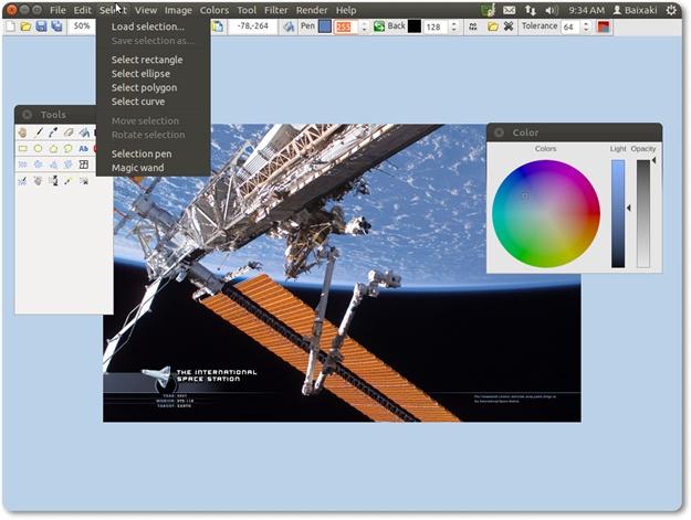 LazPaint - Imagem 2 do software