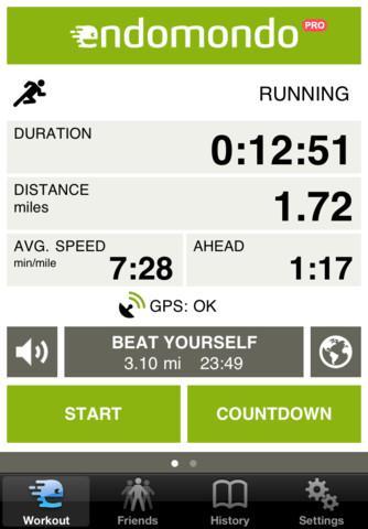Endomondo Sports Tracker PRO - Imagem 1 do software