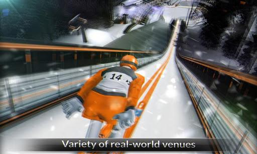 Super Ski Jump Free - Imagem 1 do software