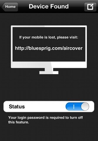 AirCover - Imagem 4 do software