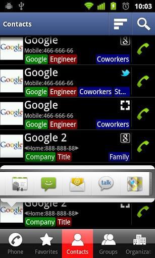 DW Contatos & Telefone Dialer - Imagem 2 do software
