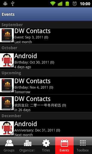 DW Contatos & Telefone Dialer - Imagem 4 do software