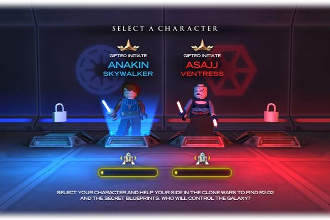 LEGO Star Wars: Quest for R2-D2 - Imagem 2 do software