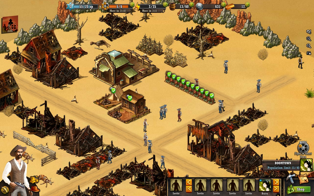 Gangs of Boomtown - Imagem 1 do software