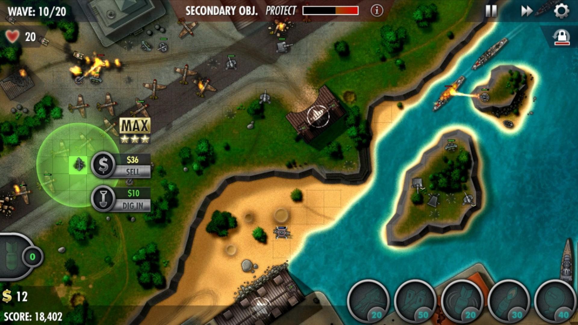 iBomber Defense Pacific - Imagem 2 do software