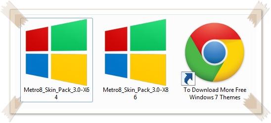 Metro 8 Transformation Skin Pack - Imagem 3 do software
