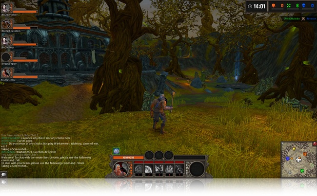 Warhammer Online: Wrath of Heroes - Imagem 1 do software