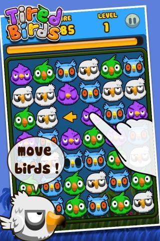 Tired Birds - Imagem 1 do software