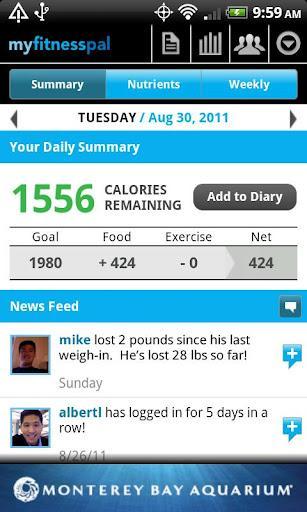 Calorie Counter - MyFitnessPal - Imagem 1 do software