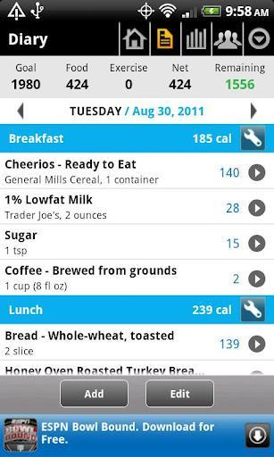 Calorie Counter - MyFitnessPal - Imagem 2 do software