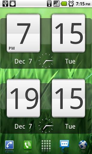 Sense Analog Clock Widget - Imagem 1 do software
