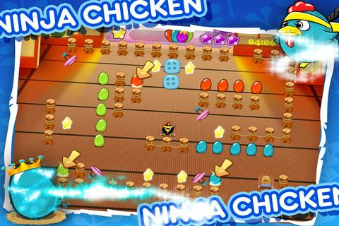 Ninja Chicken Egg Collector - Imagem 1 do software