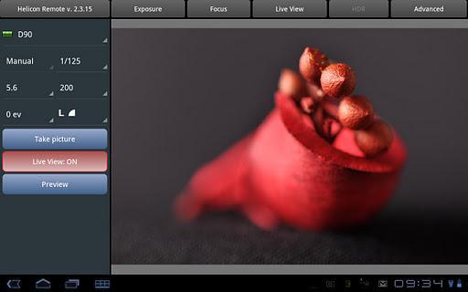 Helicon Remote (beta) - Imagem 1 do software