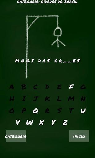 Jogo da forca (Brasileiro) - Imagem 1 do software