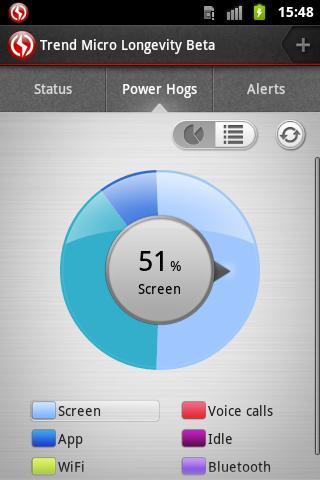 Longevity Battery Saver (Beta) - Imagem 2 do software